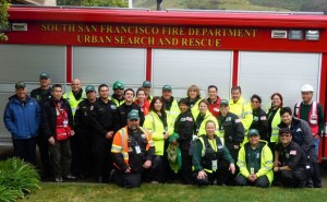 Some of the SSFCERT members after the 2012 Silver Dragon exercise