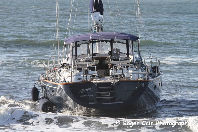 This 82 foot yacht was stolen and run aground