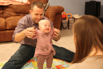 Jen Baumgartel opted for in-vitro fertilization after learning from a Counsyl test that she and her husband were carriers for the severest form of Smith-Lemli-Opitz syndrome.