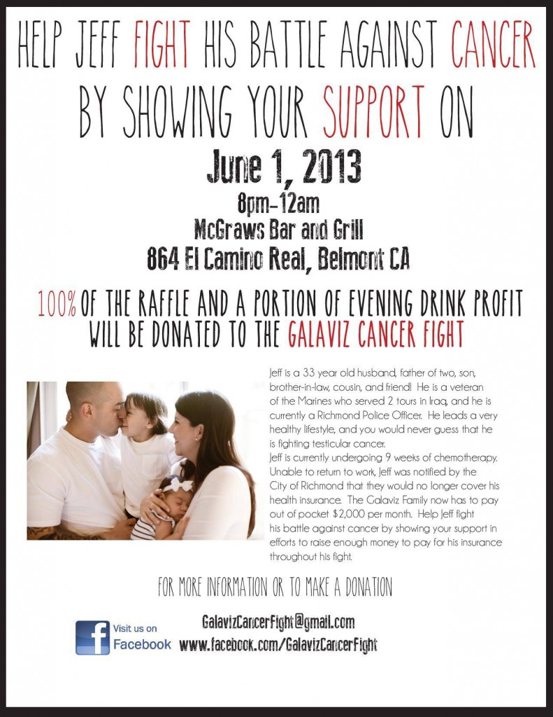 Galaviz Cancer Fight Flyers