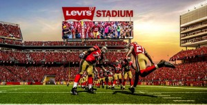 Here is a picture released by the 49ers of what the signage in the new stadium could look like: