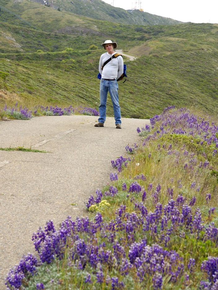 Liam O'Brien will be guiding Saturday's hike Photo SFButterfly