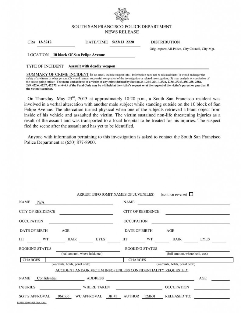 SSFPD 5.23.2013 Assualt Deadly Weapon San Felip-page-001