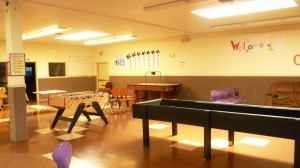 *The main room houses quiet reading nooks, foosball, air hockey, and loads of other activities to keep kids of all ages engaged and directed.  PHOTO: Everything South City