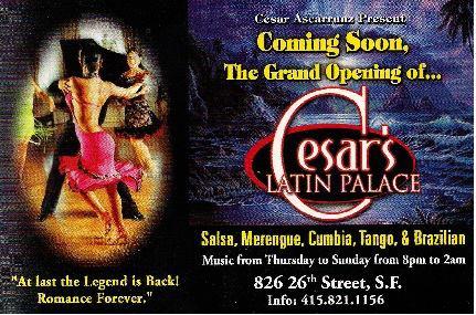 Cesar Ascarrunz Latin Palace Opening