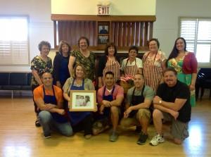 Part of the crew: Judi B, Helen C. Debbie B. Madeline, Camille, Pat, Angela Michael, Kamala, Justin, Jeremy,Dave,