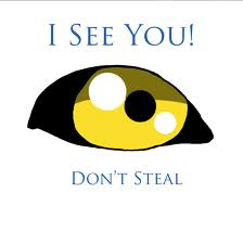 Our message to thieves- and would be thieves - move on - we see you!