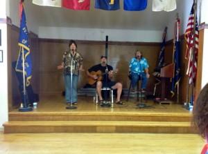 Our musicians Bev Morgan, Tom Morgan, Pat Nugent