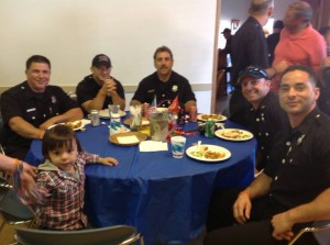 Thank you to our SBFD and their great support.