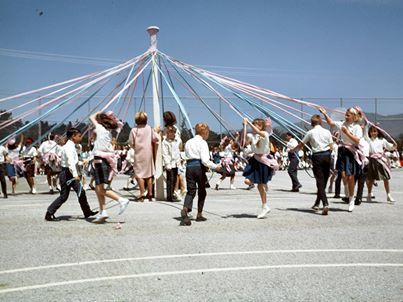 Avalon School Mayday dance 1968  Photo: Chazz Hesselein