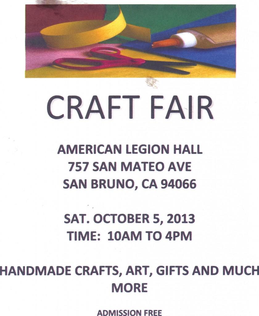 American Legion Craft Fari