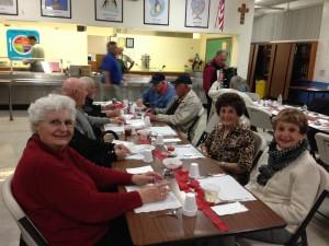 Members enjoying the evening