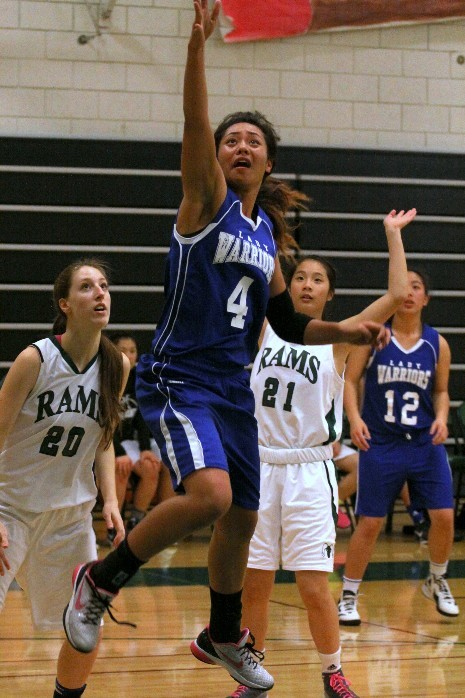 Keanna Tofiga ('14) PAL North League Most Valuable Player 2012 - 2013 San Mateo Daily Journal Power Forward of the Year Photo: SSFUSD