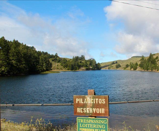 No trespassing on public lands per the SFPUC