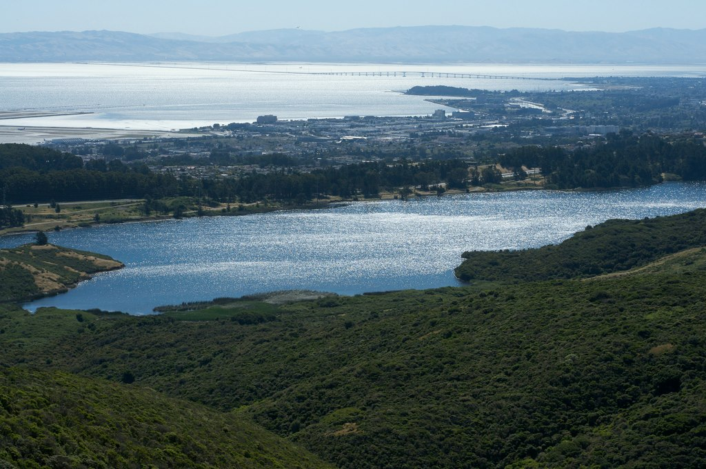The SF Watershed facing towards the SF Bay Photo: OSFWTH
