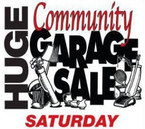 SSF City Wide Garage Sale SATURDAY SEPT 13th