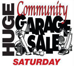 SSF City Wide Garage Sale SATURDAY SEPT 10th