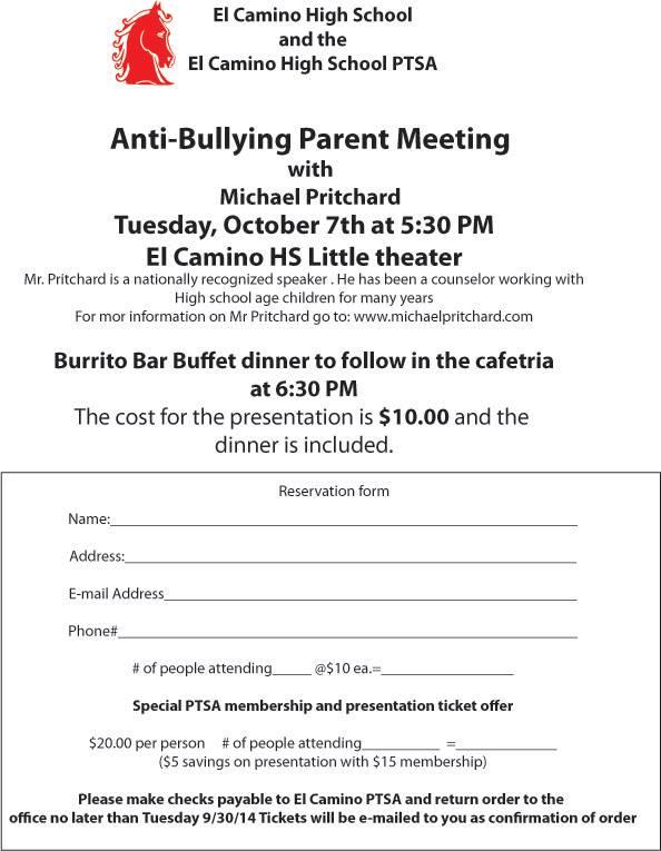 ECH Anit bullying program