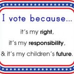 vote right responsiblity childrens future