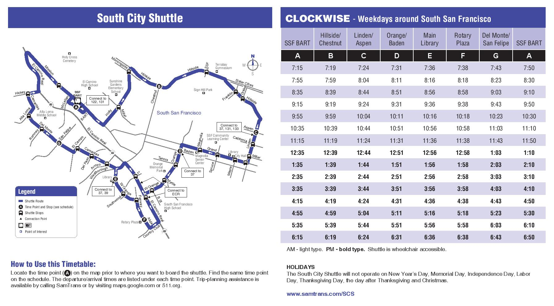 South City Shuttle To Start November 4th – UPDATE WITH ... on key system route map, caltrain route map, greyhound route map, septa route map, bus route map, vta route map, valley metro route map, dart route map, metro transit route map, omnitrans route map, thebus route map, amtrak route map, foothill transit route map, golden gate transit route map, ac transit route map, anaheim resort transit route map, san francisco route map, mtc route map, glendale beeline route map, smart route map,