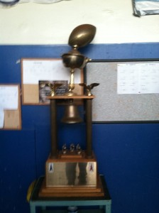 The prized Bell currently sits with the Warriors. Where will it be come Saturday night?
