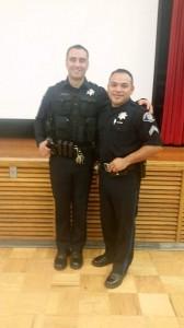 2 officers at Martin School Dec 2014