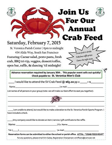 st v's crab feed 2