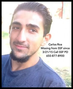 The candlelight vigil for Carlos Roa has been canceled