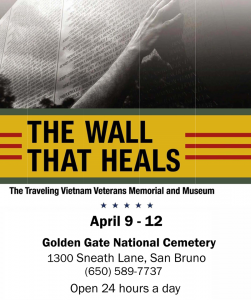 the wall that heals traveling vietnam memorial