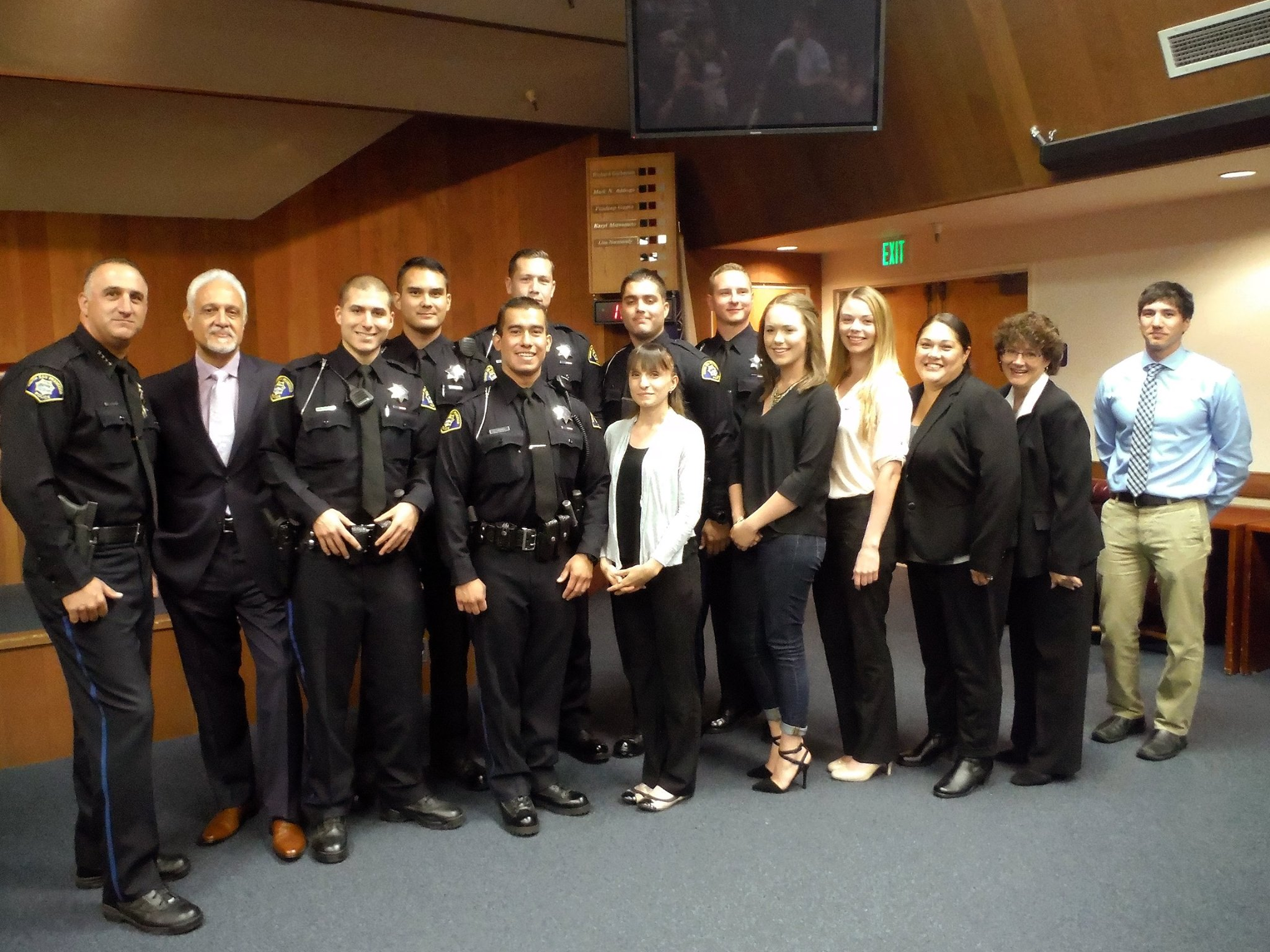 South San Francisco Police Department Swears in Six New