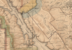 Old maps show the location of the Poor Farm and of the Reservoir