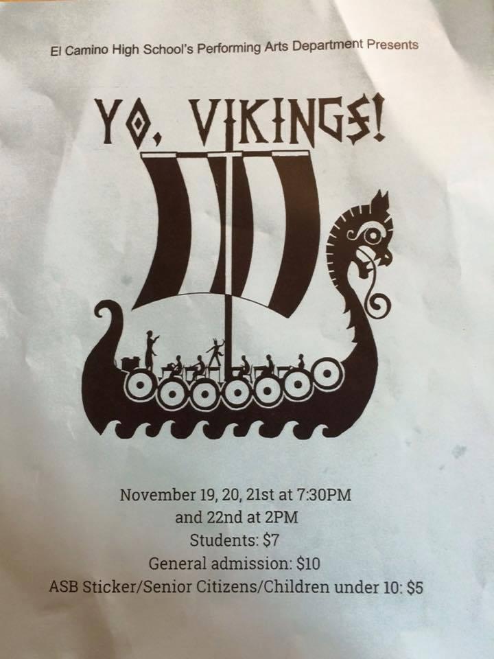 Yo Vikings ECHS play 11,2015