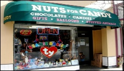 Nuts for Candy, located at 1241 Burlingame Ave is offering 10% purchase when you mention Everything South City on SBS. Owned by South City native John!
