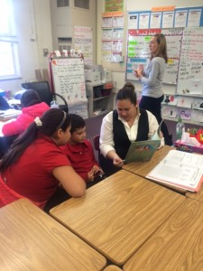 Martin teachers Miss Summers and Mrs. Delia  also reach out to student families including them in the students education