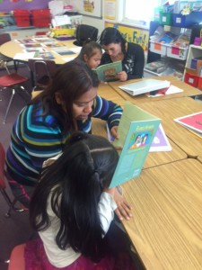 Parents become engaged in their child's education through Latino Literacy program