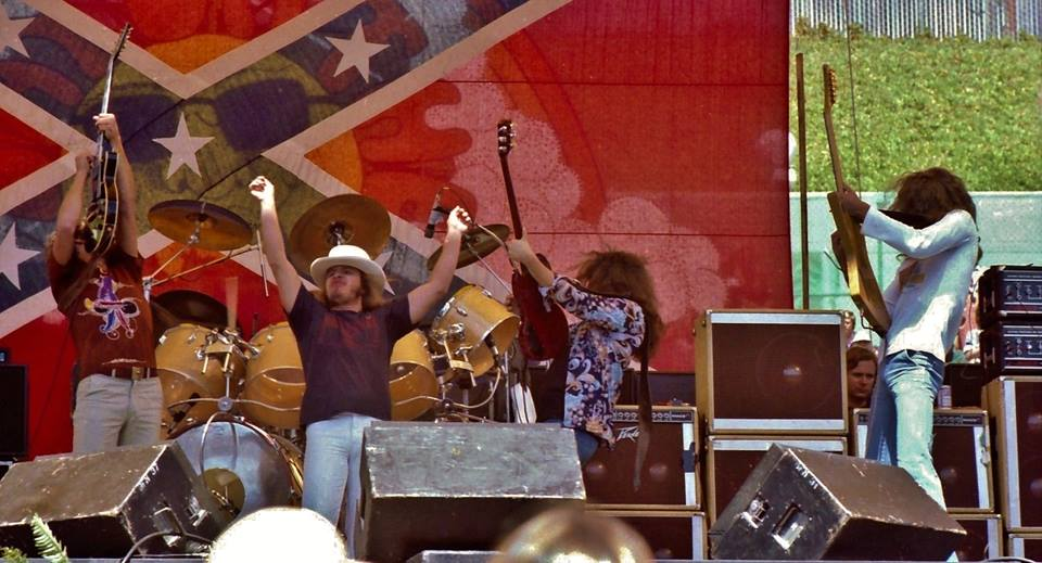 Ronnie Van Zant and Steve Gaines
