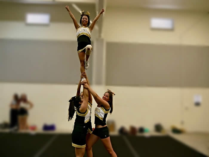 Connie is the Secretary and Flyer member ofCSULB Club Cheerleading Squad -