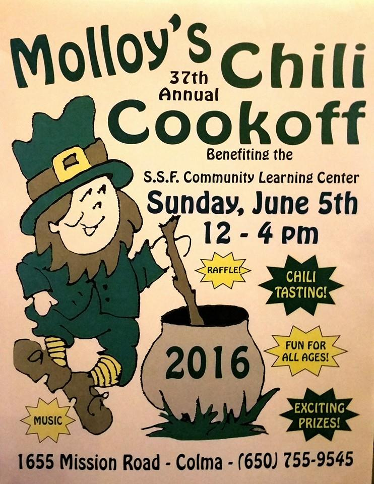 molloys cook off