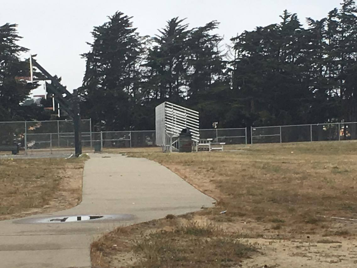 Another SSF School site: Alta Loma also looks abandoned