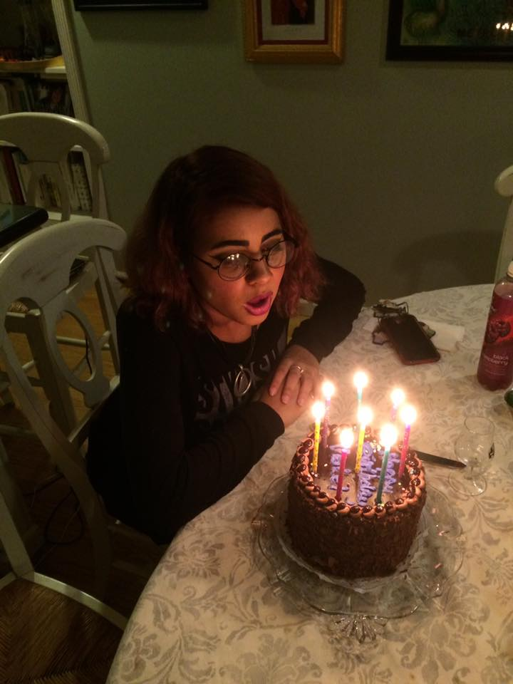 """Is this the last cake from Galli's?"" Vinny Vance asks as he shares a photo of his daughter's recent BD cake"