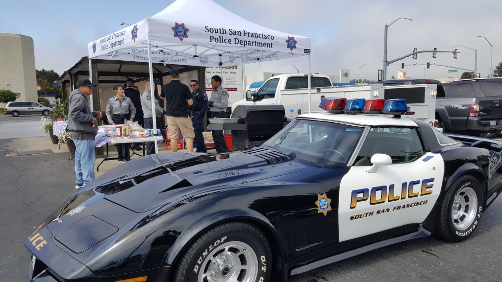 The South City Car Wash held another fundraiser for our SSF Police Explorers