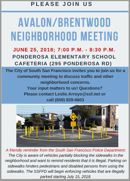 Avalon Brentwood Homeowners Announce Neighborhood Meeting June 25th